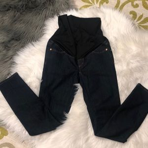 Loft maternity jeans